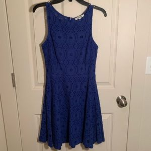 BB Dakota Lace Skater Tank Top Dress